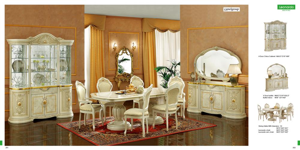 Dining Room Furniture_Classic Dining Sets_Leonardo Dining