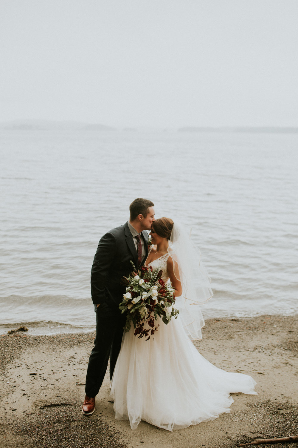 Friday Harbor adventure elopement