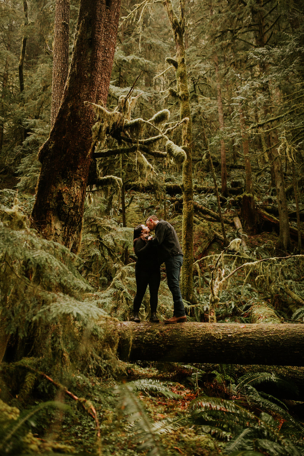 Best olympic national park engagement photos by BreeAnna Lasher