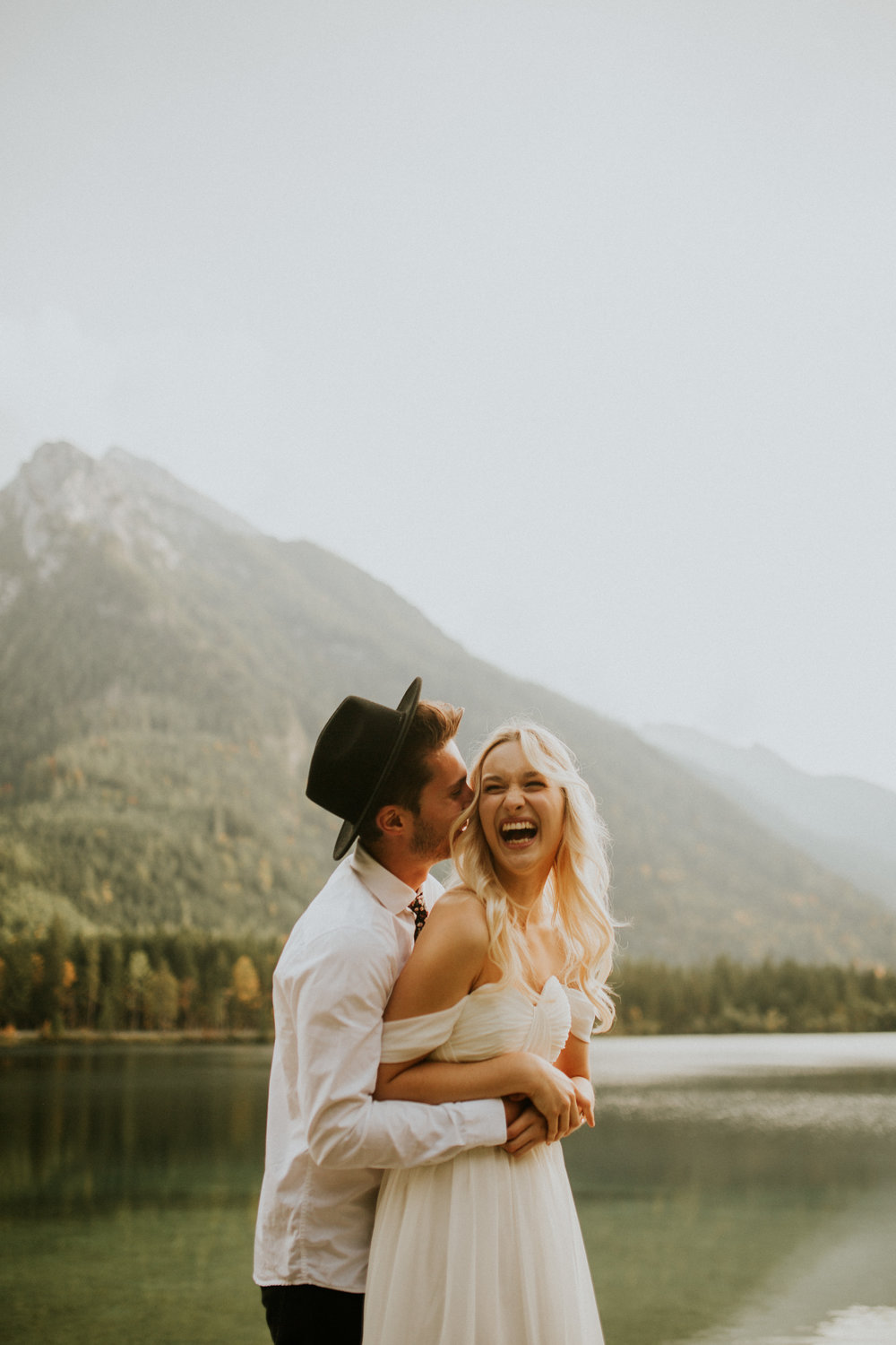 Hintersee german lake elopement by BreeAnna Lasher