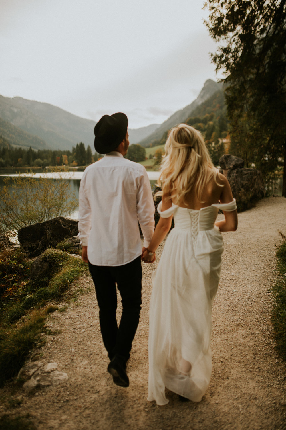 Germany elopement by the lake