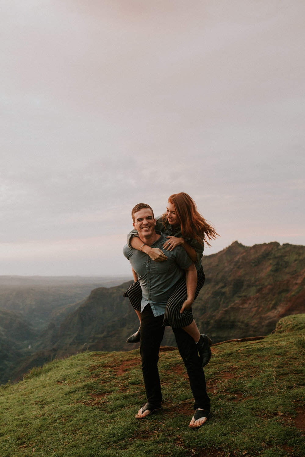 kauai adventure engagement photographer by BreeAnna Lasher