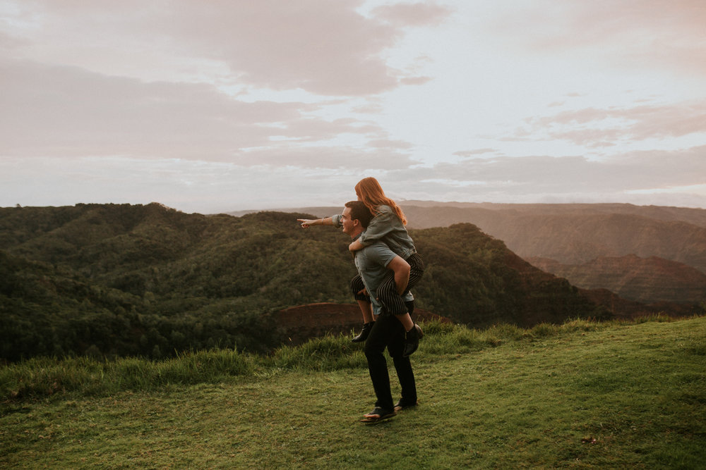 kauai engagement photos