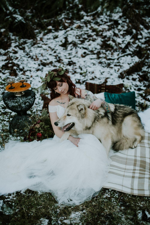 Latourell falls elopement photographer by BreeAnna Lasher