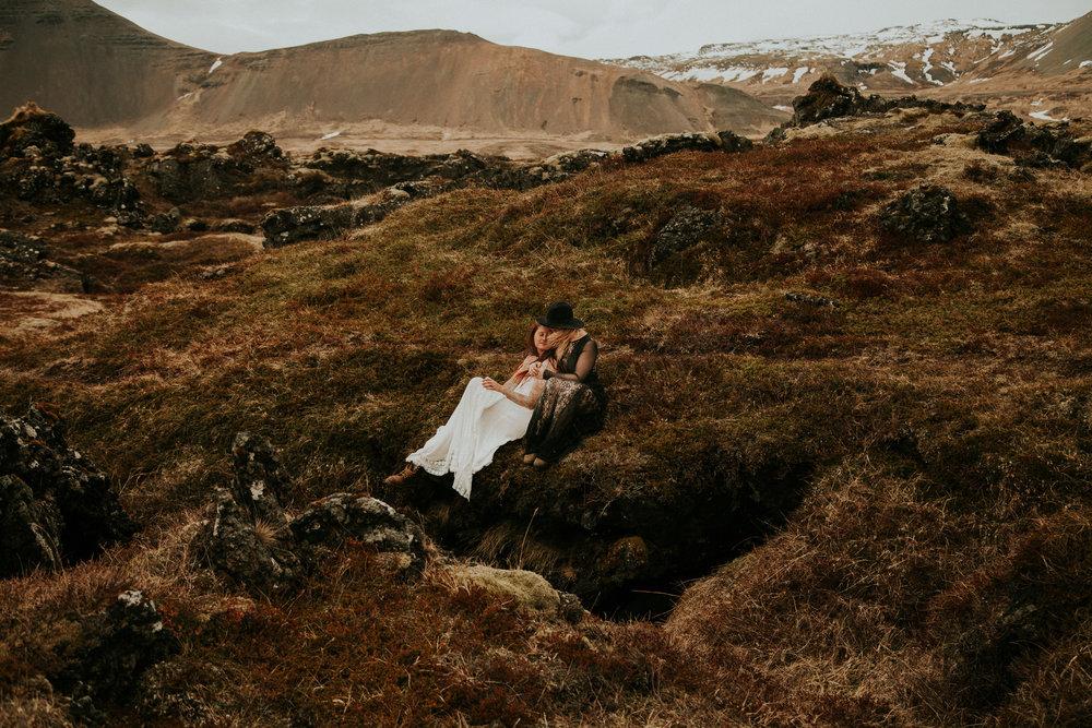 iceland elopement adventure photographer