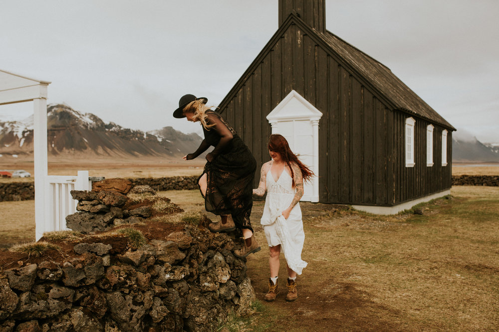 iceland same sex wedding photographer breeanna lasher