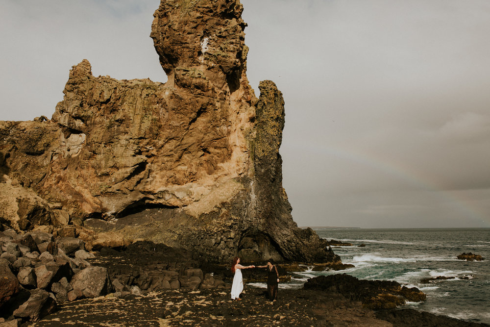 icelandic couple same sex elopement photograghy