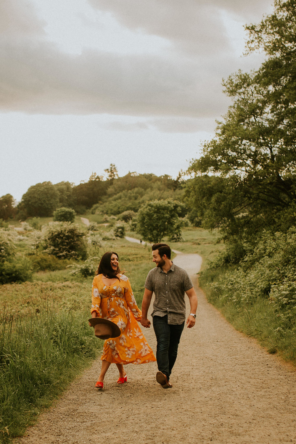 Seattle elopement photographer discovery park