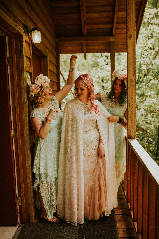 pnw forest elopement photographer breeanna lasher