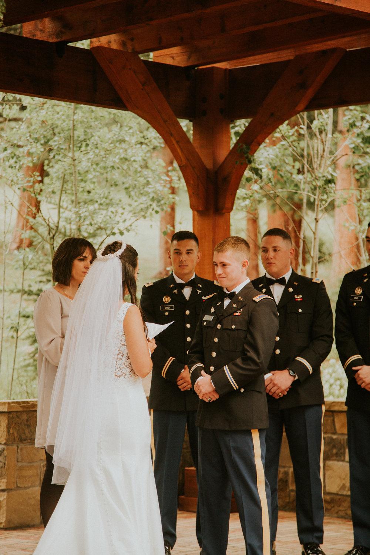 estes park della terra wedding photography