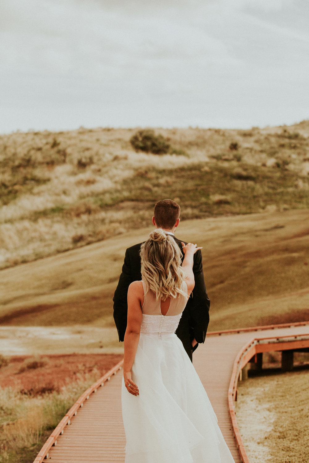 painted hills elopement photography by BreeAnna Lasher Seattle elopement Photography