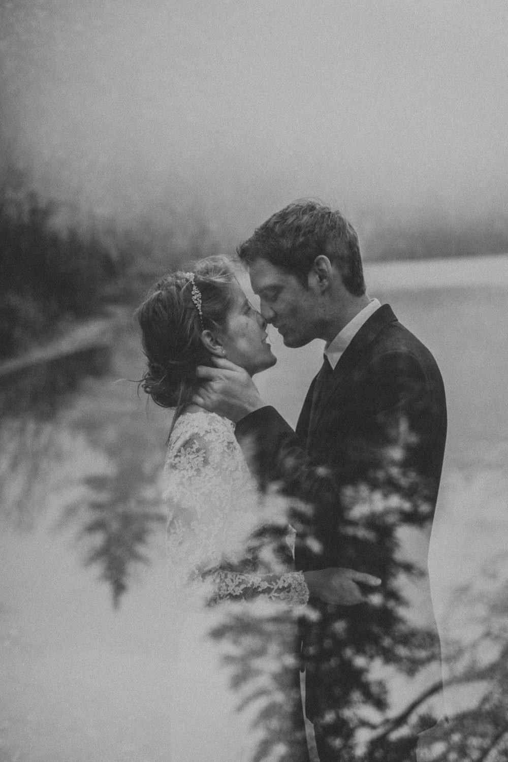 double exposure new england elopement