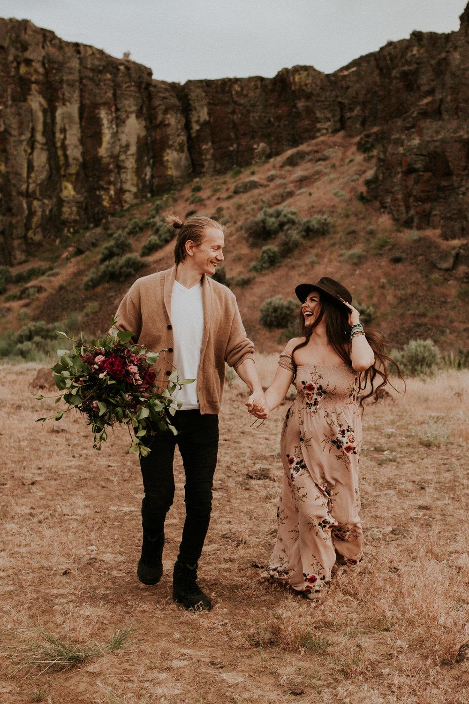 desert elopement vow renewal vantage wedding photography