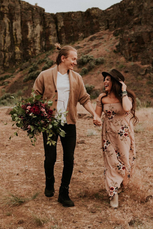 Dessert elopement photography cute vow renewal george washington