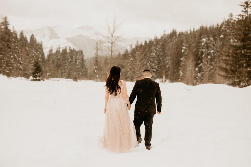 PNW elopement Photography