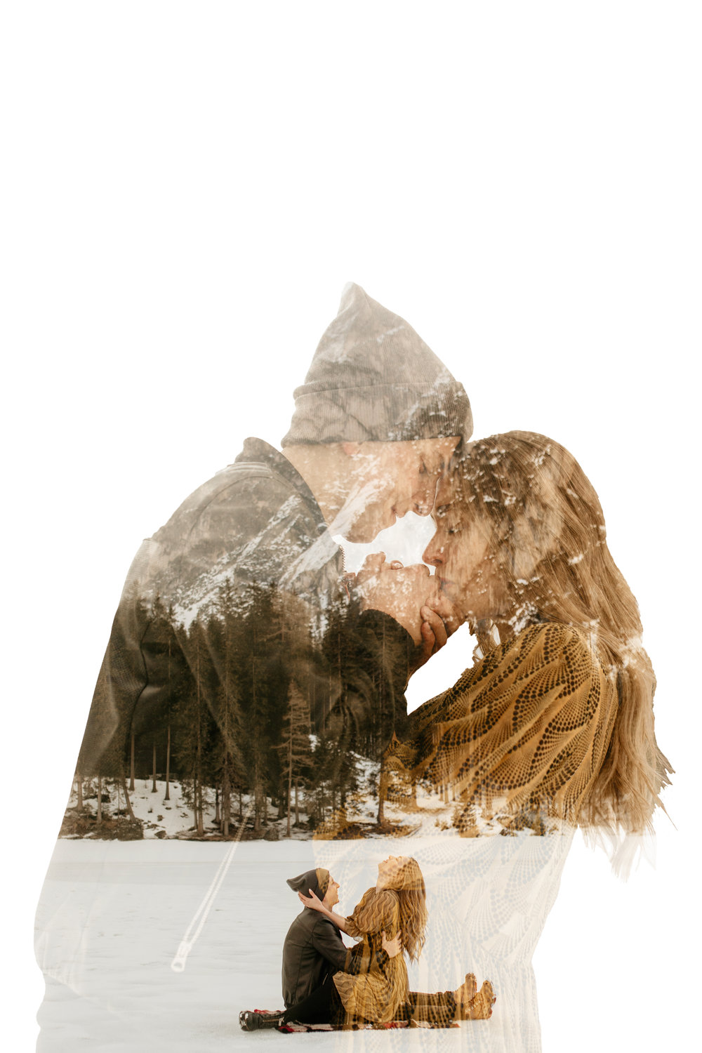 How to make a double exposure - how to edit a double exposure - how to edit a double exposure photo in photoshop - how to make a double exposure in Lightroom - how to create a double exposure - how to double exposure photoshop - triple exposure tutorial - double exposure tutorial - tacoma elopement photography