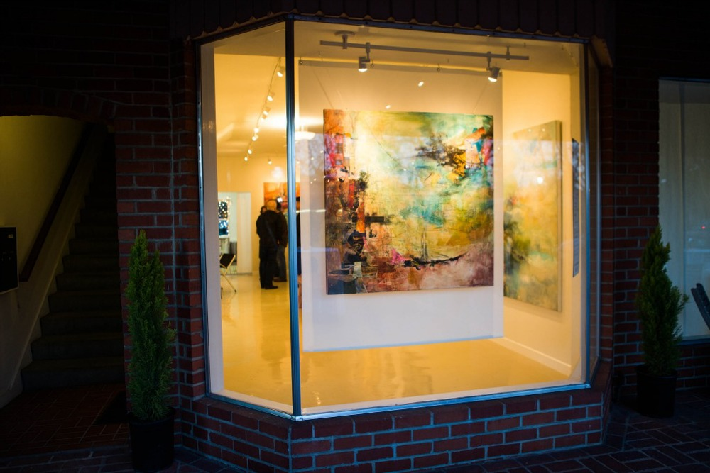 Jennifer Perlmutter Gallery in Downtown Lafayette, CA.