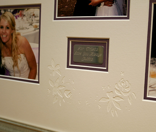 16_wedding-photo-collage-frame-hand-carved-matting-close-up-unique-personalised-framing-ideas.jpg