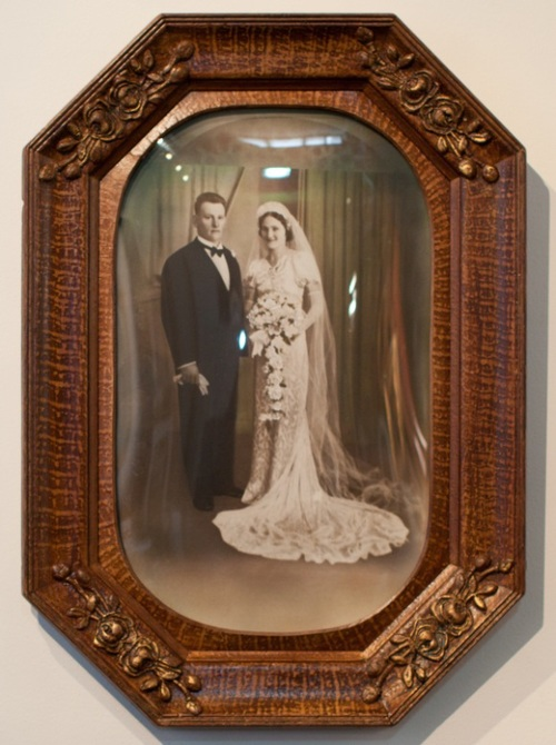 Antique frame and photo restoration