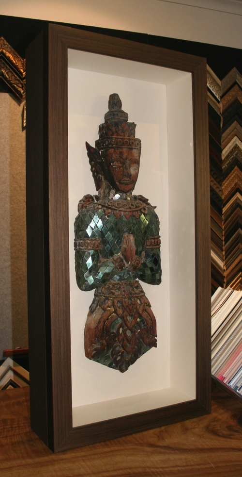 Antique Buddha Custom framing brisbane