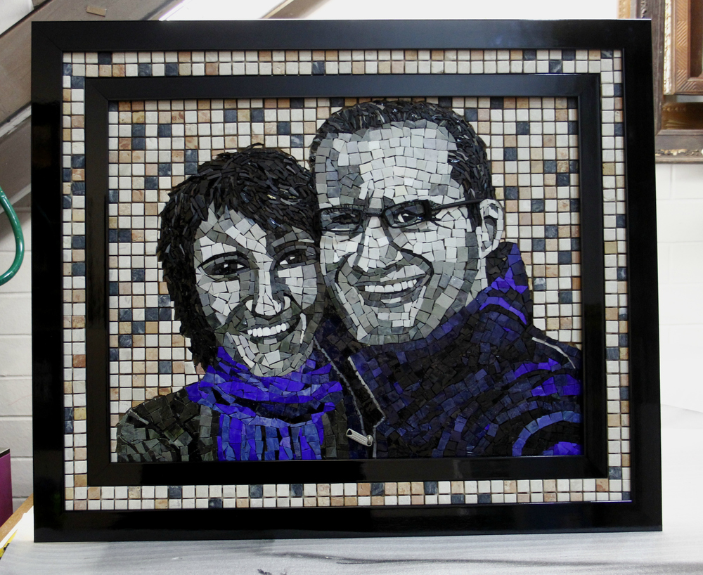 Framing Mosaic art