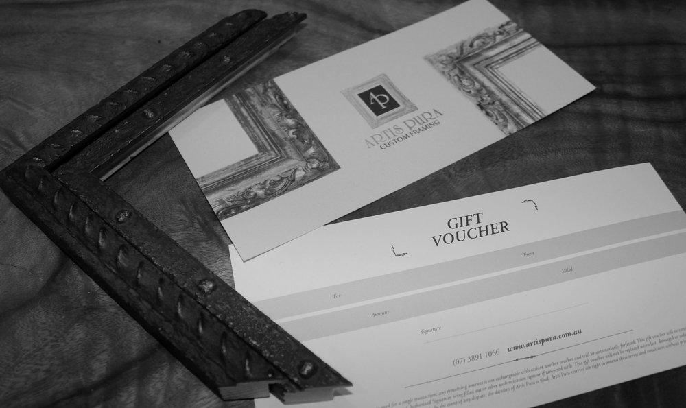 Gift VoucherS -
