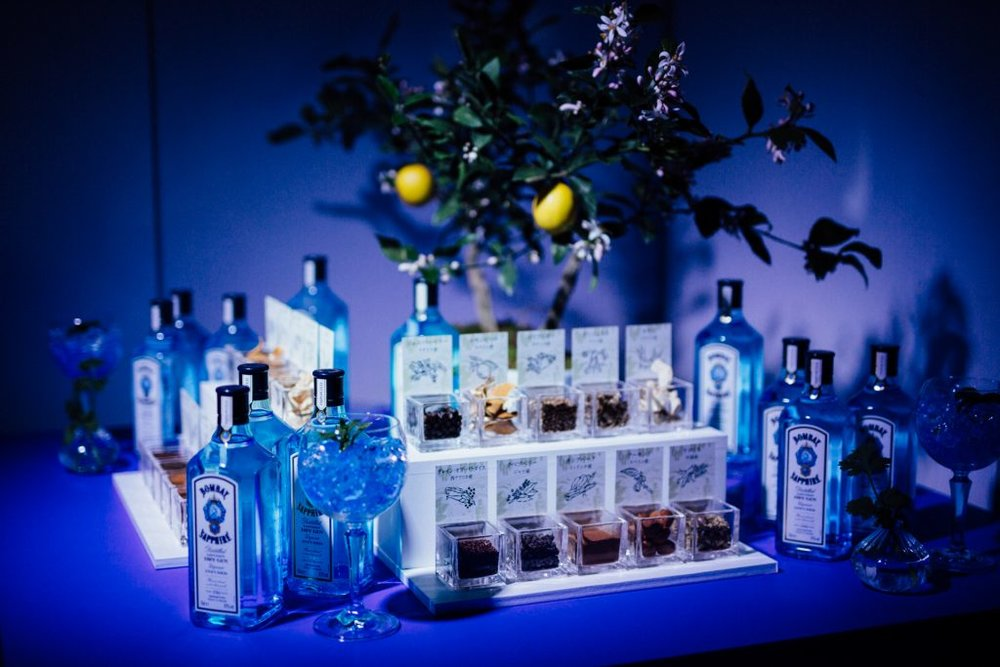 10 herbs used in bombay sapphire