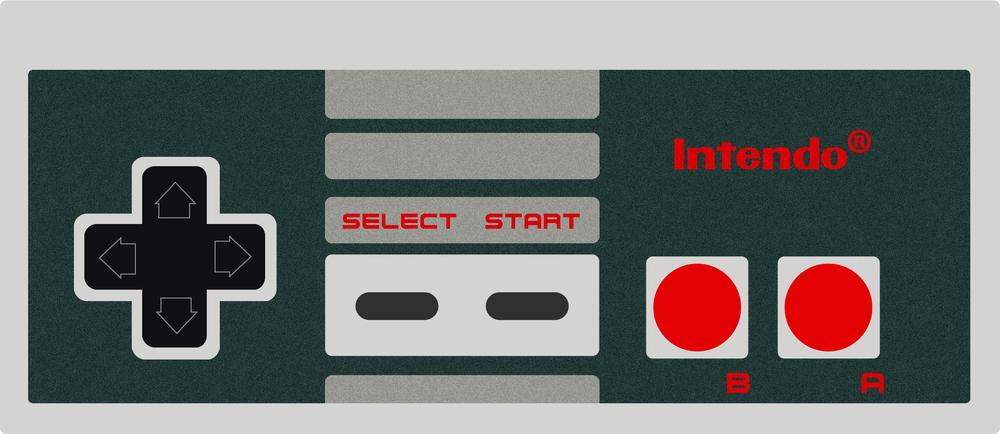 Nintendo Controller Vector