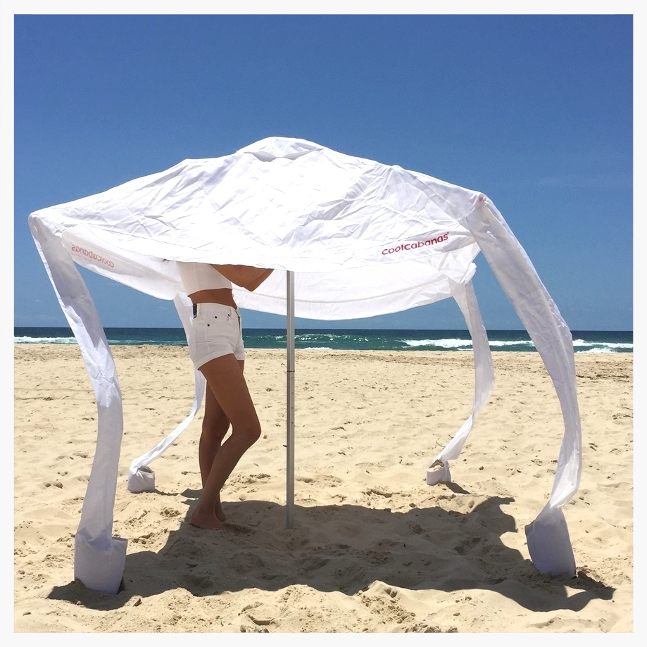 CoolCabanas beach umbrella sun shelter