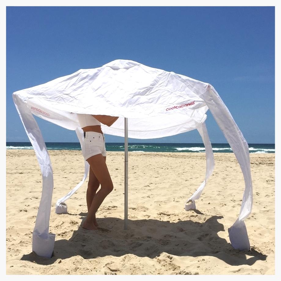 Тент для пляжа от солнца своими руками