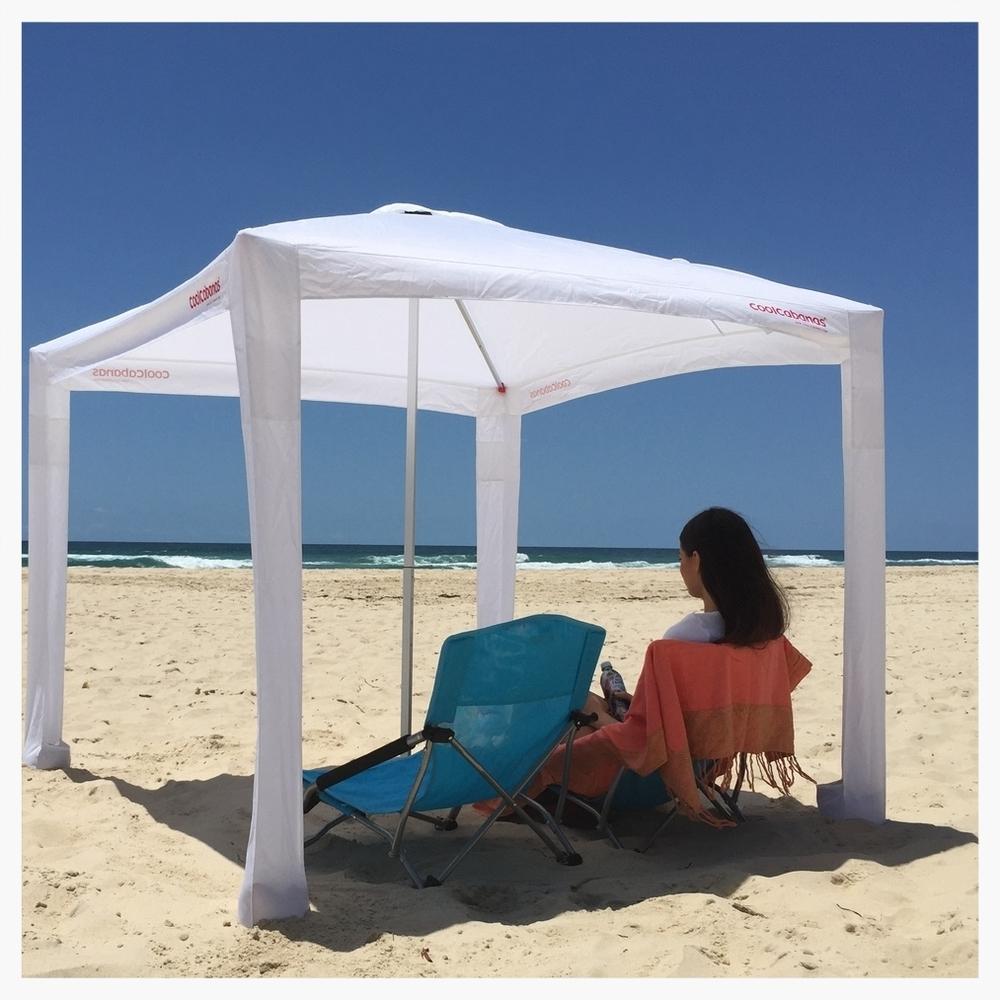 CoolCabanas beach umbrella sun shelter