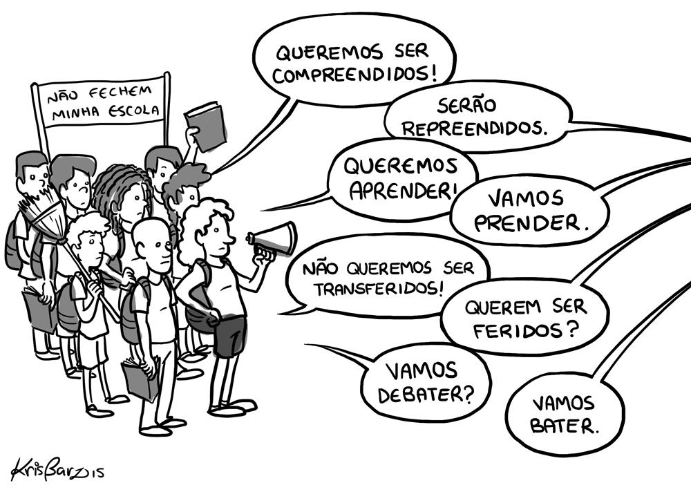 Aos alunos de São Paulo