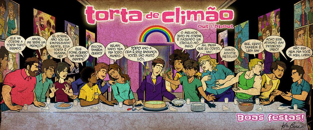 Santa Ceia do Torta de Climão
