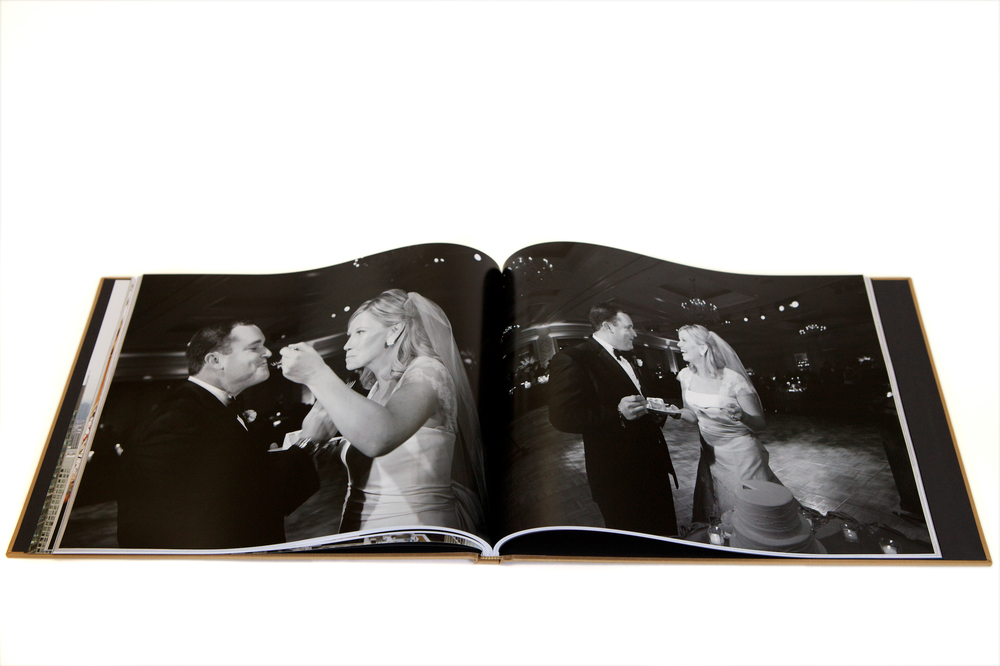 Large format, press printed photo book.