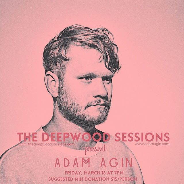 HEY DC FANS! Catch an intimate solo acoustic set from Adam next Friday. Hit us up for deets. House show vibes. Gonna be a real special night!