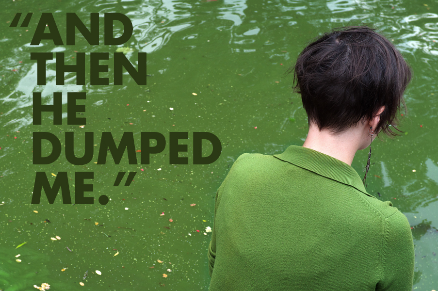 """""""And Then He Dumped Me"""", New York City"""