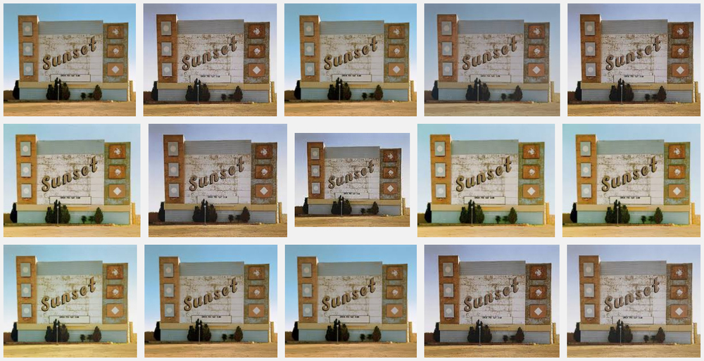 Google Search: Stephen Shore's 'Sunset Drive In, Amarillo, 1974'