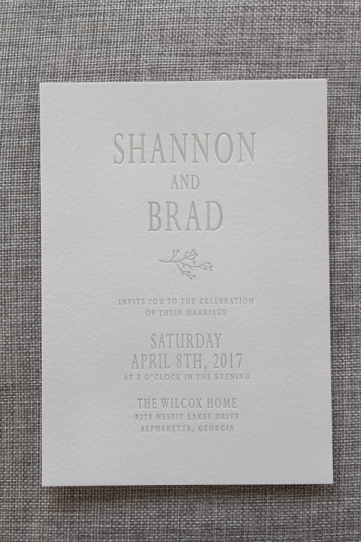 Shannon & Brad