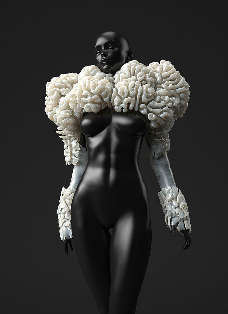 Part of  'Wanderers, An Astrobiological Exploration' by Neri Oxman  and collaborators