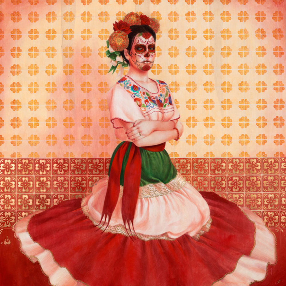 Catrina in Repose, 2012, by  Sylvia Ji