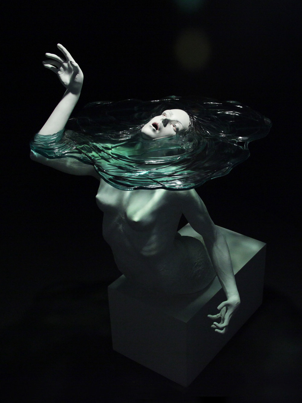 Currents, a sculpture by Cameron Stalheim