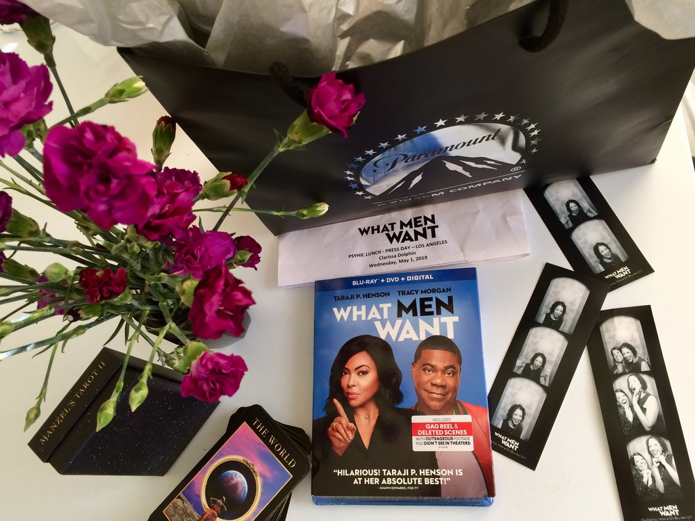 What Men Want gift basket from the amazing Paramount Pictures publicity team