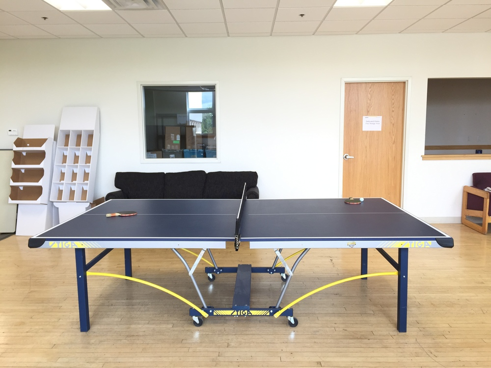 What's an office without a ping pong table?