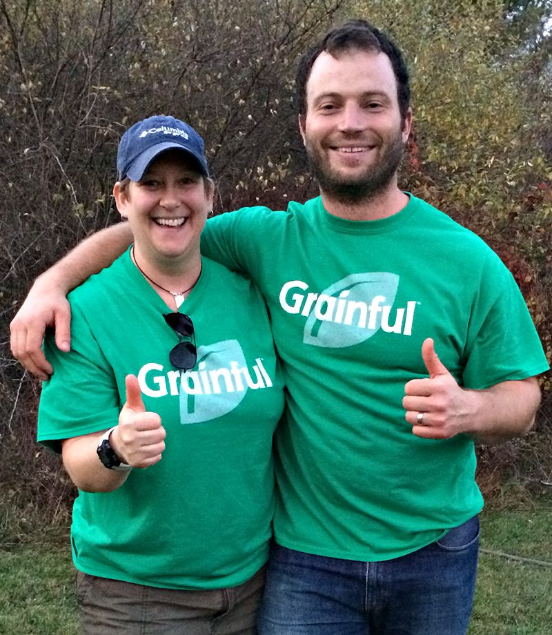 Grainful Founders,  Chef Jeannine Sacco and President Jan Pajerski
