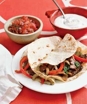 Steak Fajitas from Real Simple (Photo by Kana Okada)