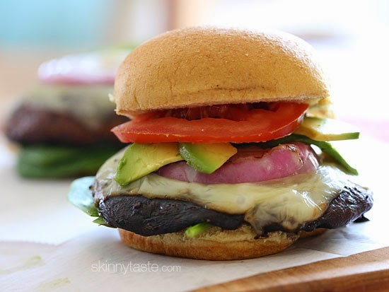 "Memorial Day weekend is the weekend that kicks off the summer, but it also is the unofficial start to grilling season. Impress your grill (and your guests) with a veggie-burger that lives up to its name; the geniuses behind Skinnytaste.com call them  ""The Best Grilled Portobello Mushroom Burgers,"" and your stomach will agree. Find the recipe  here ."