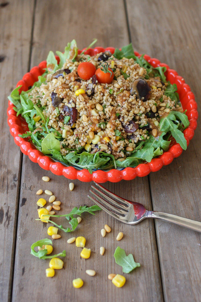 "What would a Grainful recipe list be without a little oat-ful dish? If it is a Memorial Day party, you are bound to have a ton of cold salads on the table, try this lighter dish from the blog ""Veggies Don't Bite."" It is sweet, tangy and also vegan. Find the recipe  here ."