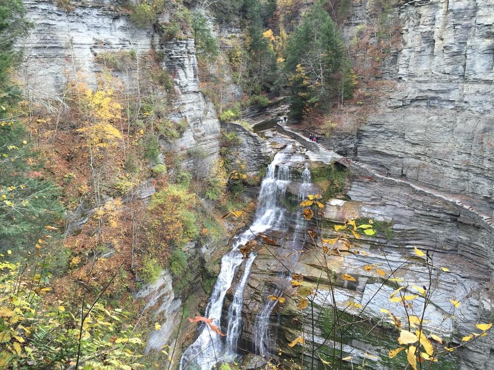 Treman Park Falls