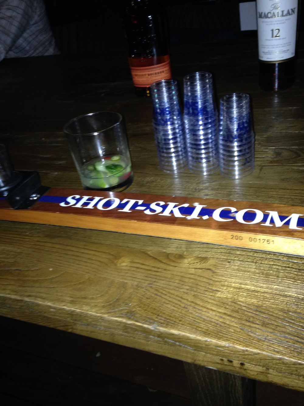 ....but need a lil' liquid courage from the ol' shot-ski.....yewwwww!