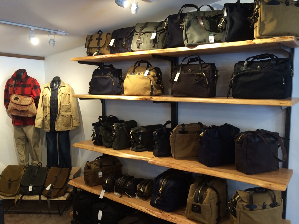 And voila!  Looks pretty much like a Filson section.  Thanks @filson1897